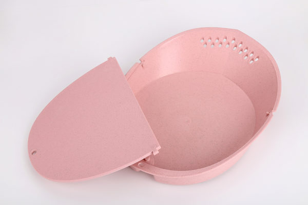 Colander With Cutting Board